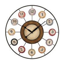 "Oversized 29"" 8 Ball Wall Clock"