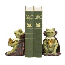 Frog Prince Book Ends (Set of 2)