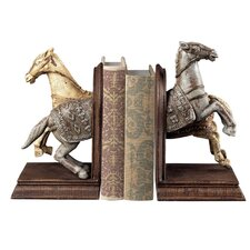 Knights Horse Book Ends (Set of 2)