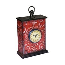 Embossed Vine Clock