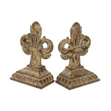 Imperial Iris Book Ends (Set of 2)