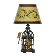 "Trading Places 18"" H Table Lamp with Empire Shade"