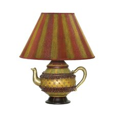 """Tolbert Teapot 16.25"""" H Table Lamp with Empire Shade"""