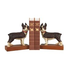 Boston Terrier Book Ends (Set of 2)