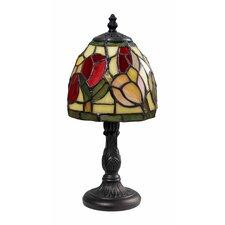 "Tiffany 12"" H Mini Table Lamp with Bowl Shade"