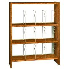"""Glacier Picture Book 47.25"""" Standard Bookcase"""