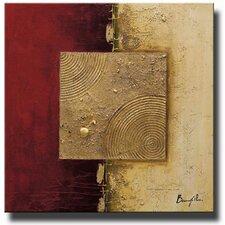 Crimson Pearl Original Painting on Canvas