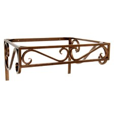 "Iron 21"" x 12"" Bathroom Shelf"