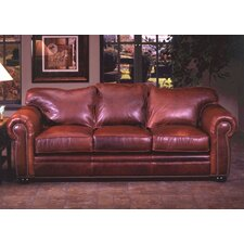 Monte Carlo Leather 3 Seat Sofa Living Room Set