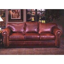Monte Carlo Leather Sofa