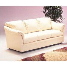 Salerno Leather Sleeper Sofa