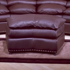 Williamsburg Leather Jumbo Ottoman