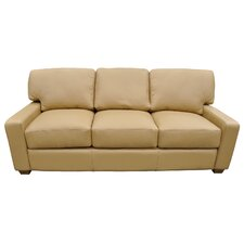 Albany Right Leather Sofa