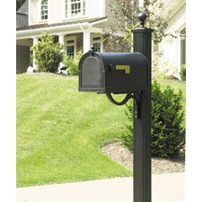 Berkshire Curbside Mailbox with Main Street Mailbox Post Unit