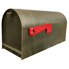 Titan Aluminum Post Mounted Mailbox