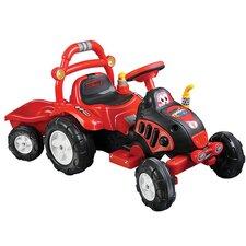 Farm 'N Fun 6V Battery Powered Tractor Trailer
