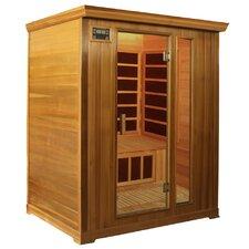Family Series 3 Person Carbon FAR Infrared Sauna