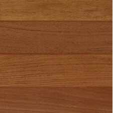 "3"" Engineered Brazilian Cherry Hardwood Flooring in Brown"