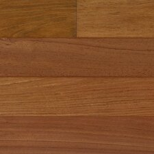 "3-1/4"" Engineered Brazilian Cherry Hardwood Flooring in Natural"