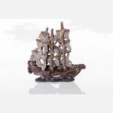 Decorative Mystery Pirate Model Ship