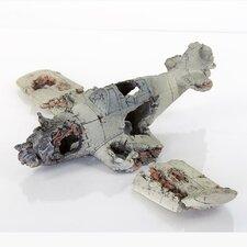 Decorative Crashed Zero Model Plane