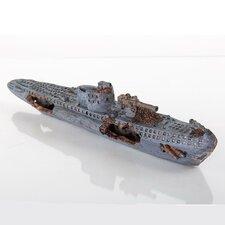 Decorative Sunken Model U-Boat