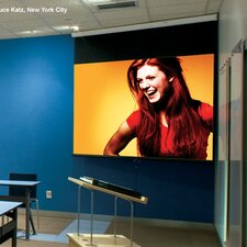 "Luma Matt White 100"" Electric Projection Screen"