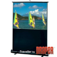 Traveller Argent White Projection Screen