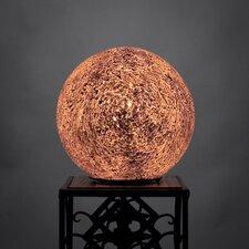 "8"" H Table Lamp with Globe Shade"