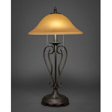"26.75"" H Table Lamps with Bell Shade"