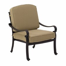 Deep Seating Chair with End Table
