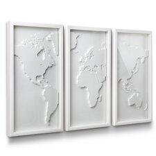 3 Piece Mapster Wall Décor Set