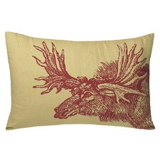 Animals Moose Lumbar Pillow