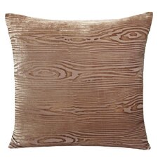 Wood grain Velvet Throw Pillow