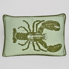 Nauticals Lobster Lumbar Pillow