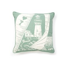 Nauticals Cuttlefish Throw Pillow
