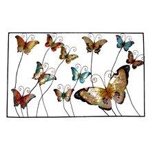 Framed Butterflies Wall Decor