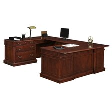 Keswick U-Shape Lateral File Executive Desk