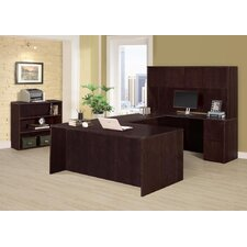 Saratoga 3 Piece U-Shape Desk Office Suite