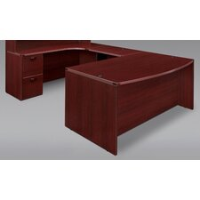 Fairplex Executive Desk with Corner Credenza