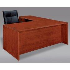Fairplex Right / Left Executive Desk with Grommet Holes