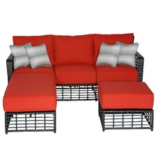 Melrose Sectional with Cushions