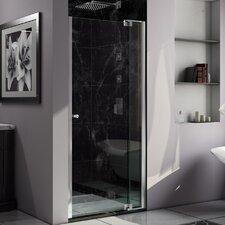 "Allure 73"" x 37"" Pivot Frameless Shower Door"