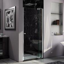 "Allure 73"" x 43"" Pivot Frameless Shower Door"