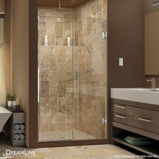 "UniDoor Plus 72"" x 45"" Pivot Hinged  Shower Door with Hardware"