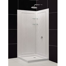 QWALL-4 Shower Enclosure Backwall Kit