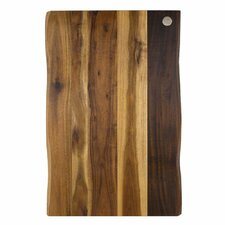 "Acacia Raw Edge 17"" x 11"" Gripper Cutting Board"