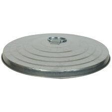 10 Gallon Light Duty Economy Lid Only, Pregalvanized Steel
