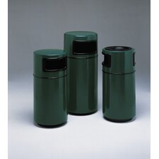 Side Entry Round Fiberglass Series 25-Gal Receptacle