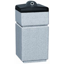 Stadium Series Poly-Lite Crete PLC Square Ash Urn Hide-A Butt